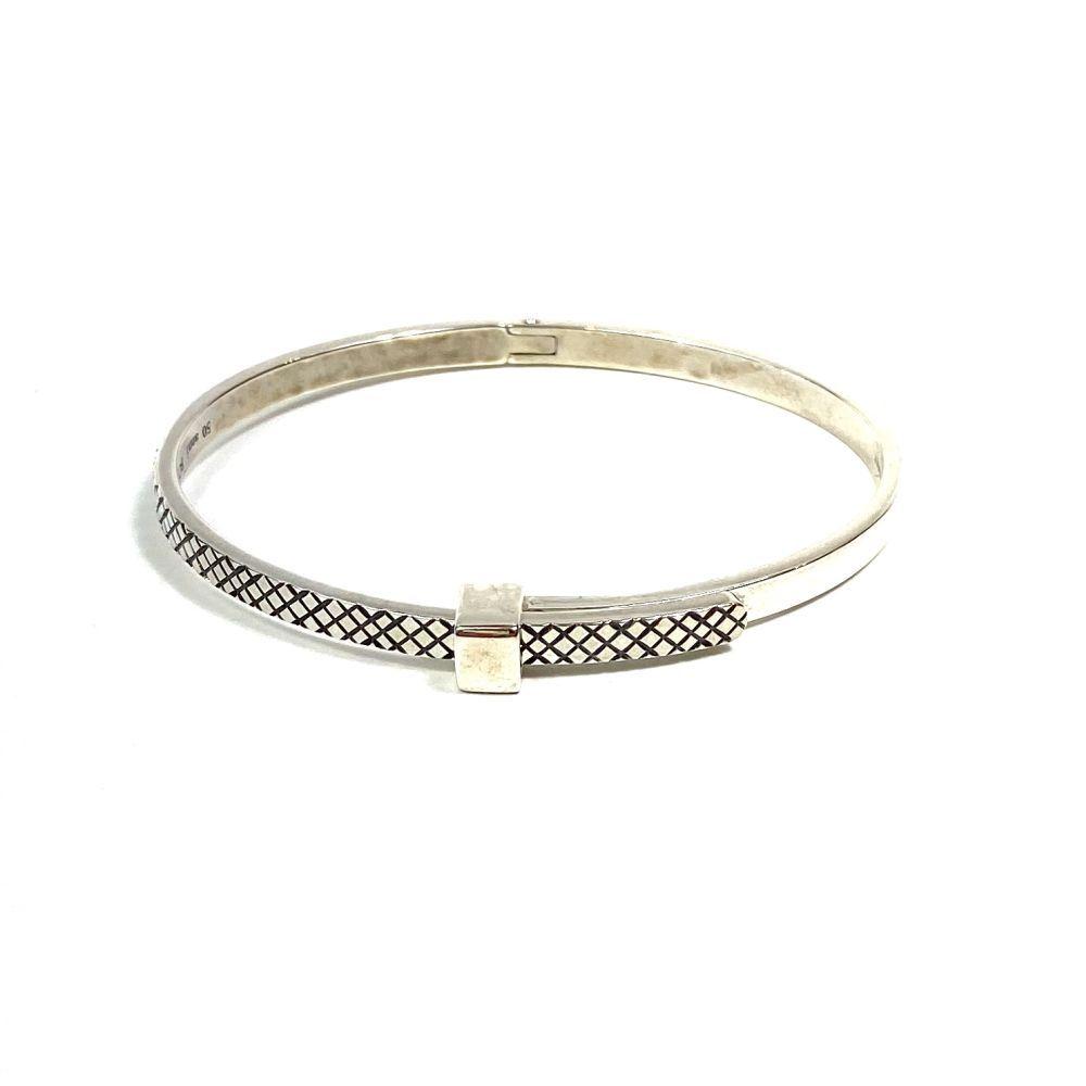 Bracelete Bottega Veneta Prata