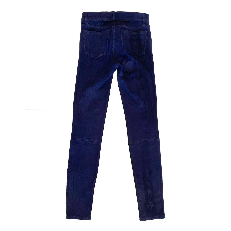 Calça J Brand Camurça Azul Escuro