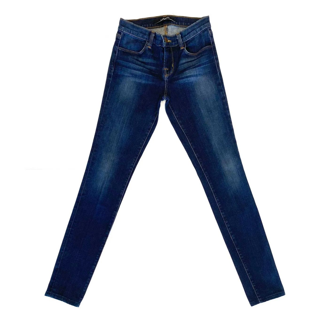 Calça J Brand Skinny Jeans Escuro