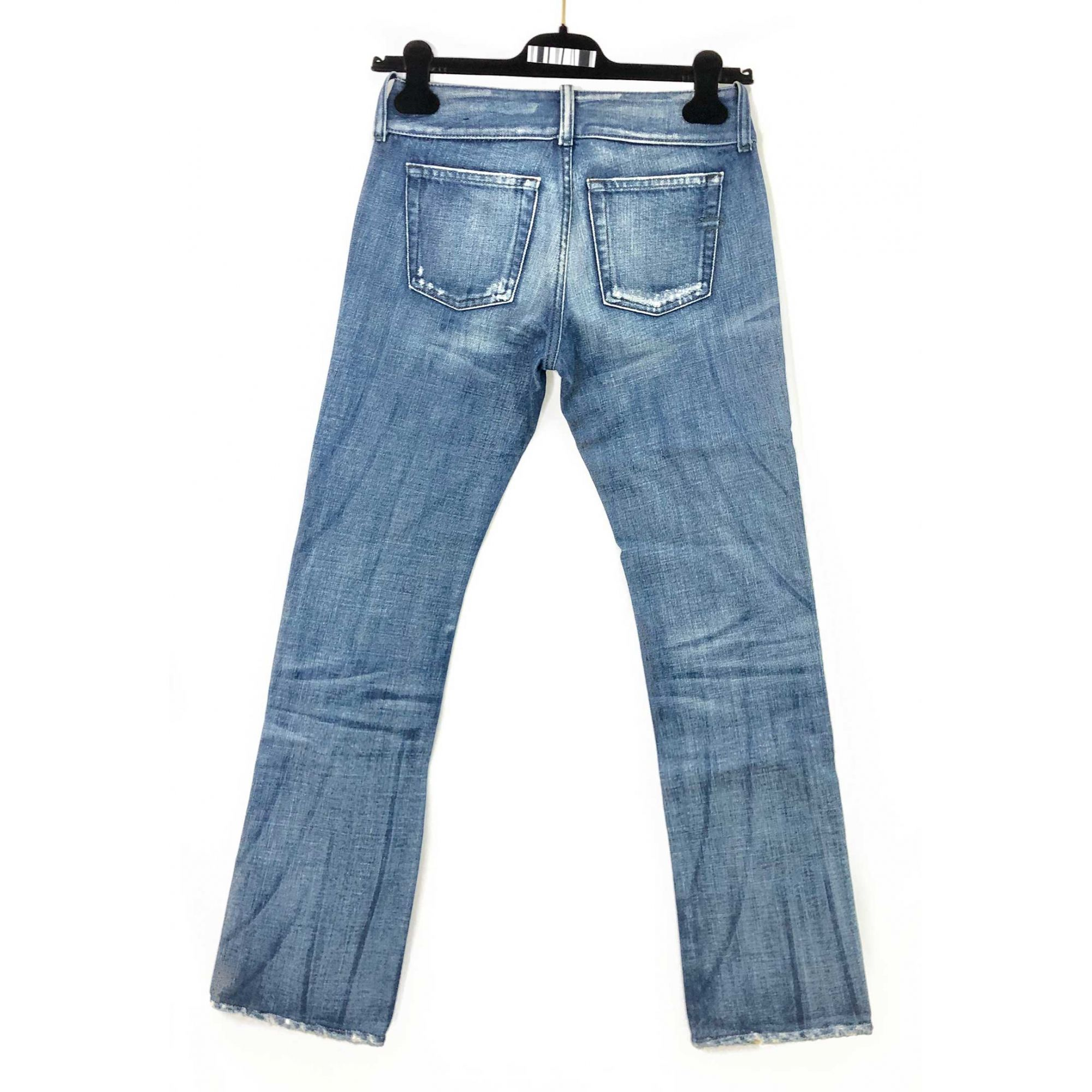 Calça Jeans Diesel Bootcut Tira Longa Cintura