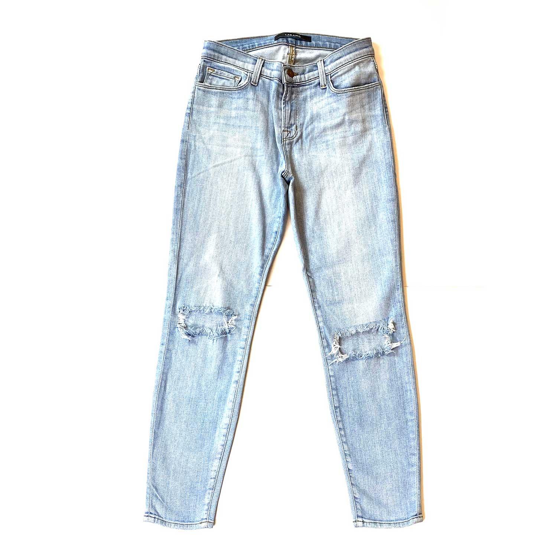 Calça Jeans J Brand Destroyed