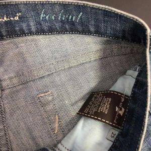 Calça Jeans Seven Bootcut Destroyed
