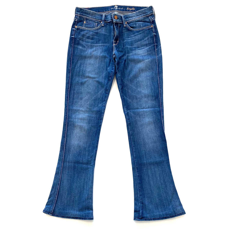 Calça Jeans Seven Bootcut Escura