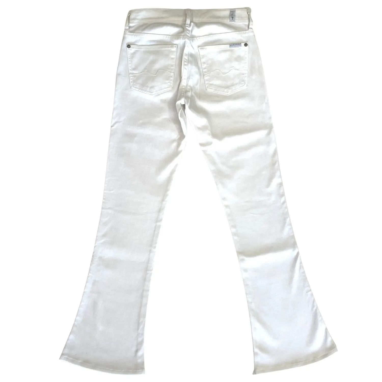 Calça Jeans Seven Sarja Branca
