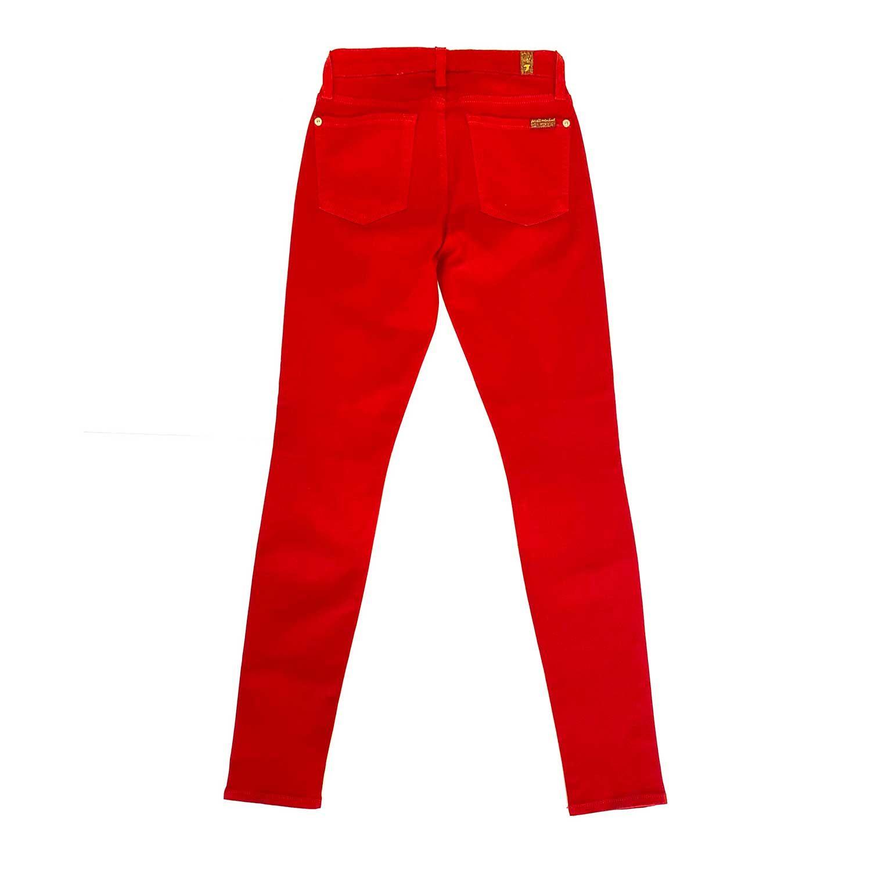Calça Seven Skinny Vermelha
