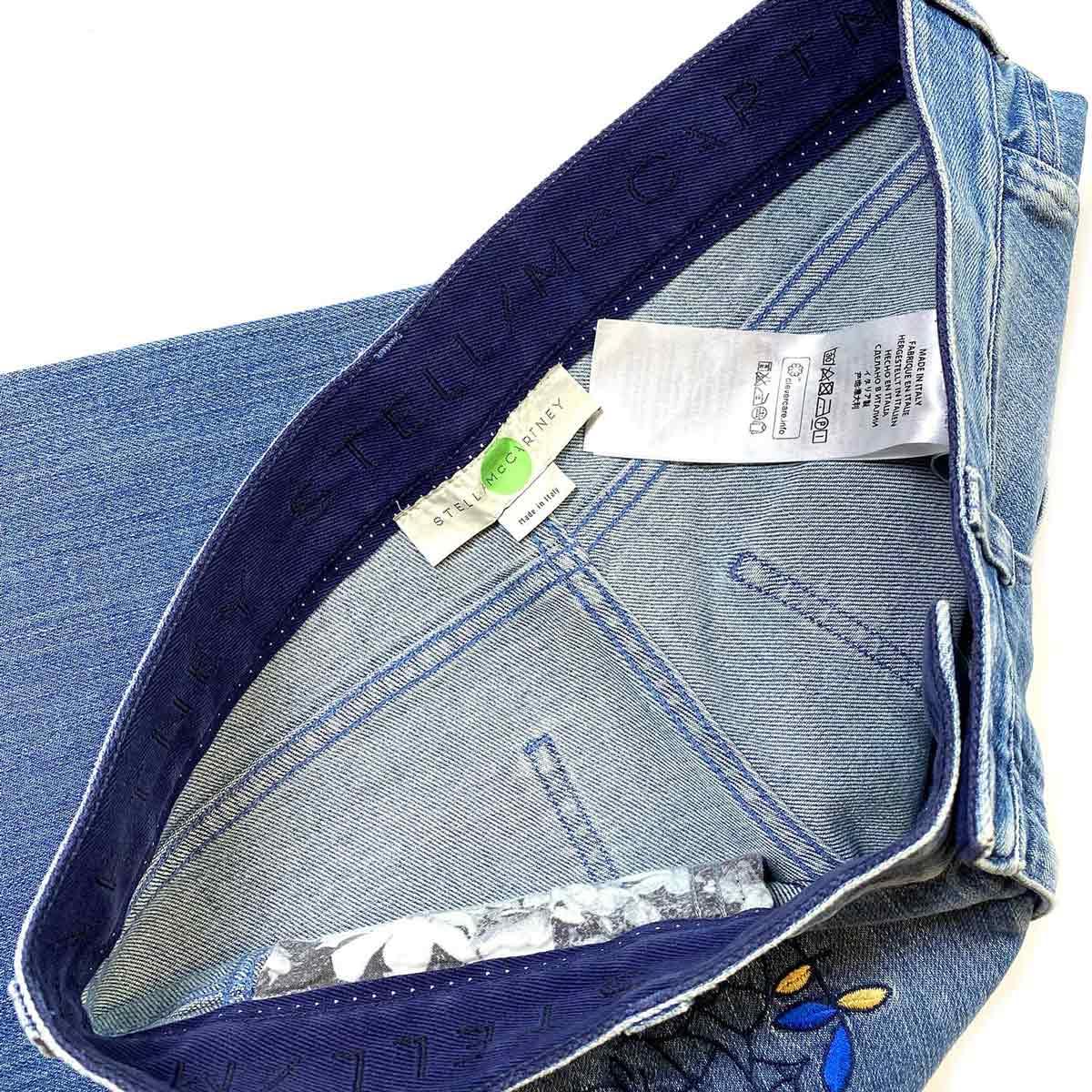 Calça Jeans Stella Mc Cartney Bordada