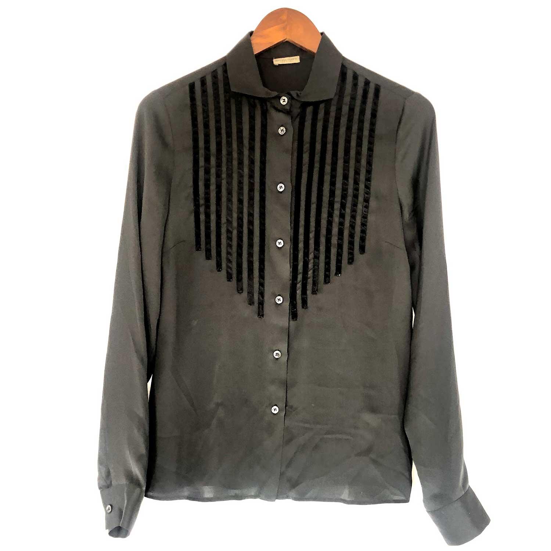 Camisa Bottega Veneta Preta