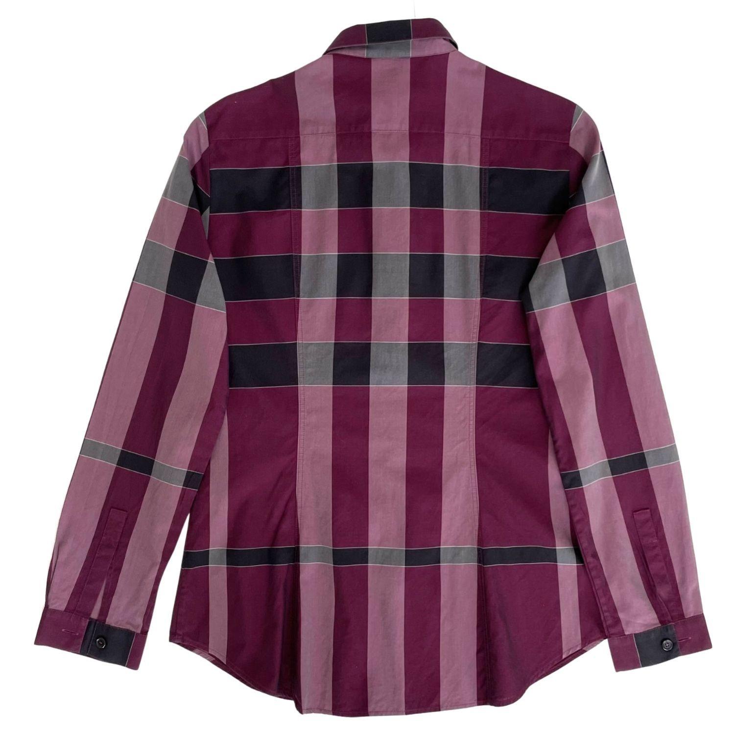Camisa Burberry Check