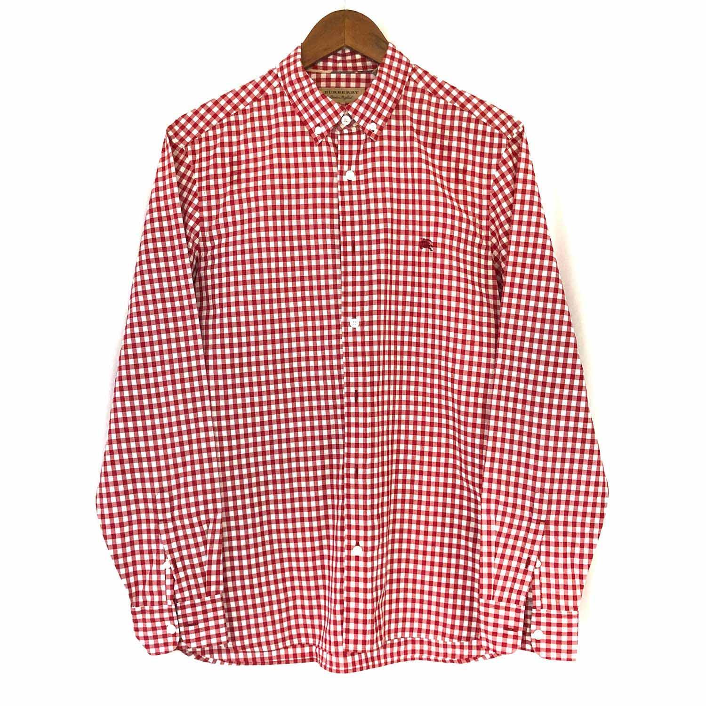Camisa Burberry Xadrez Vermelha