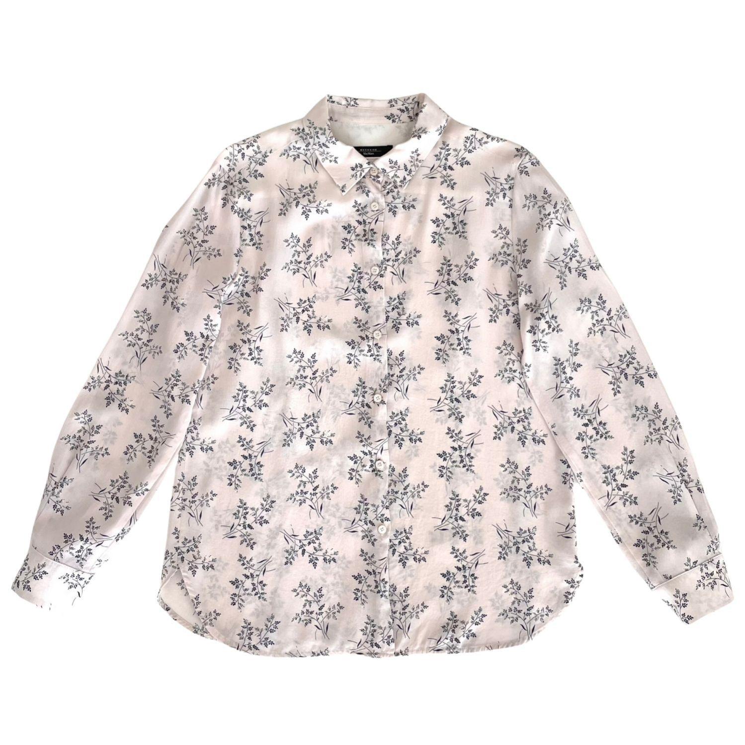 Camisa Max Mara Folhas