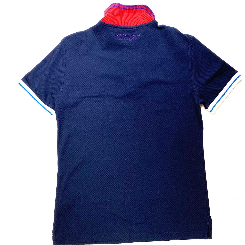 Camisa Polo Burberry Azul e Vermelha