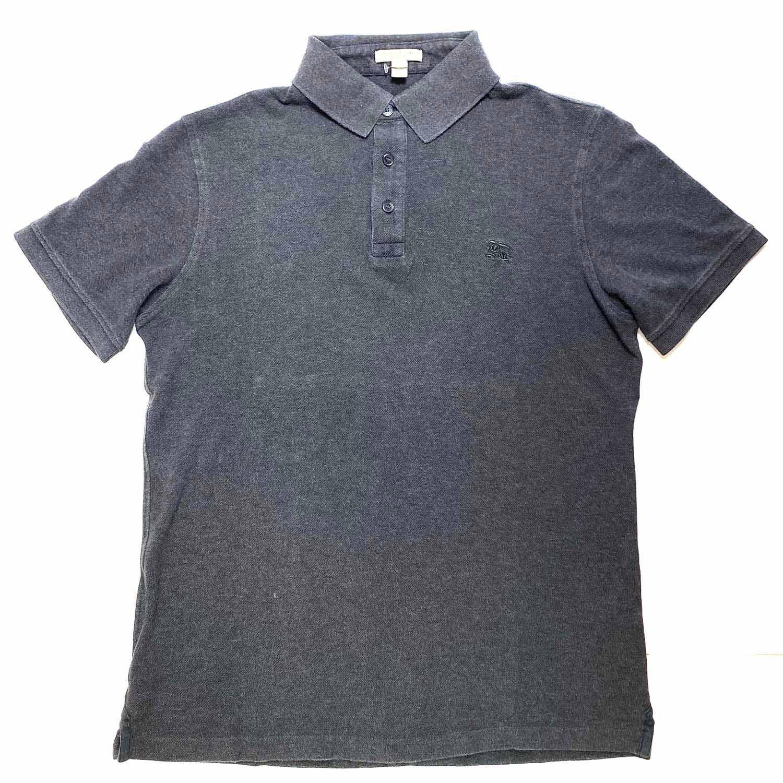 Camisa Polo Burberry Cinza