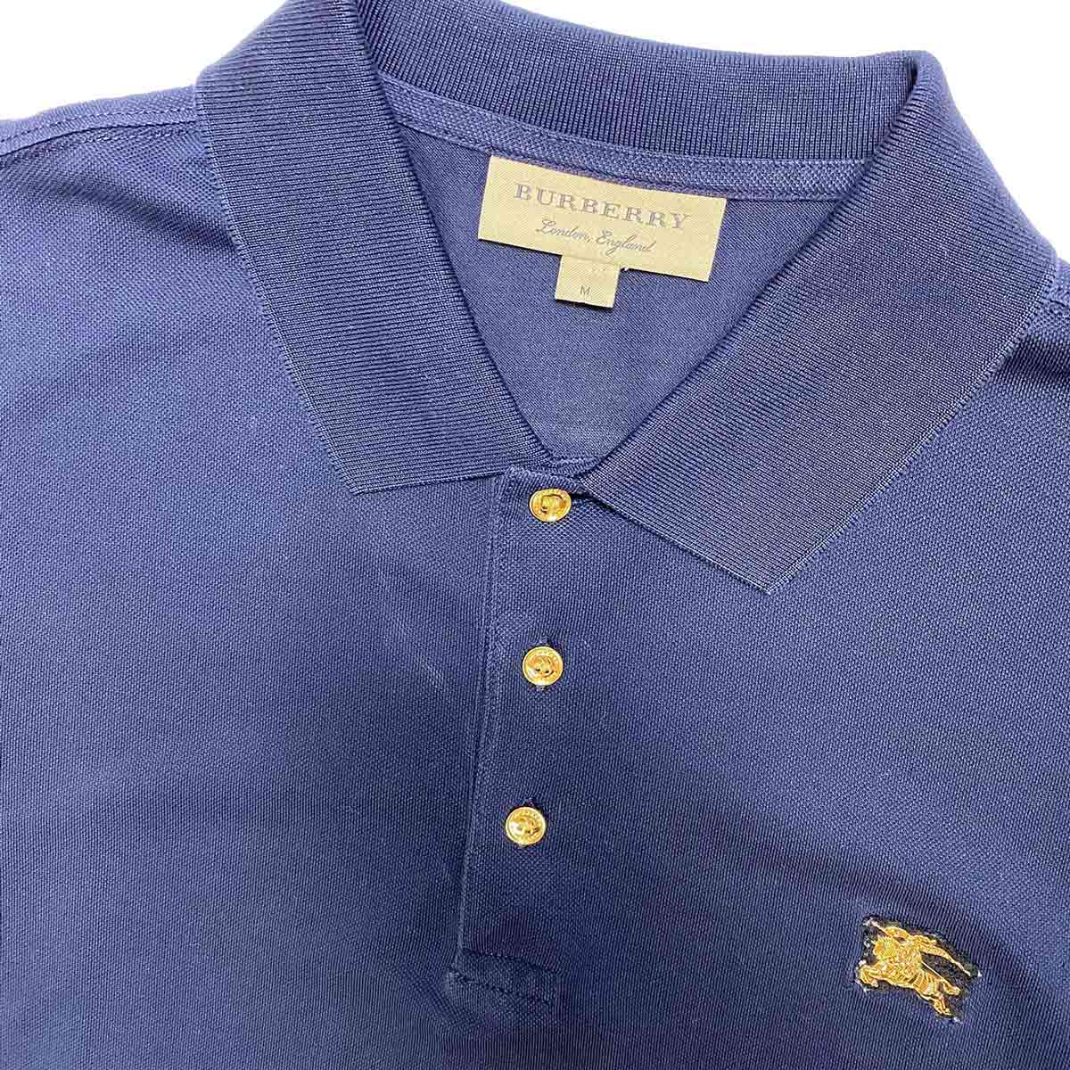 Camisa Polo Burberry Marinho