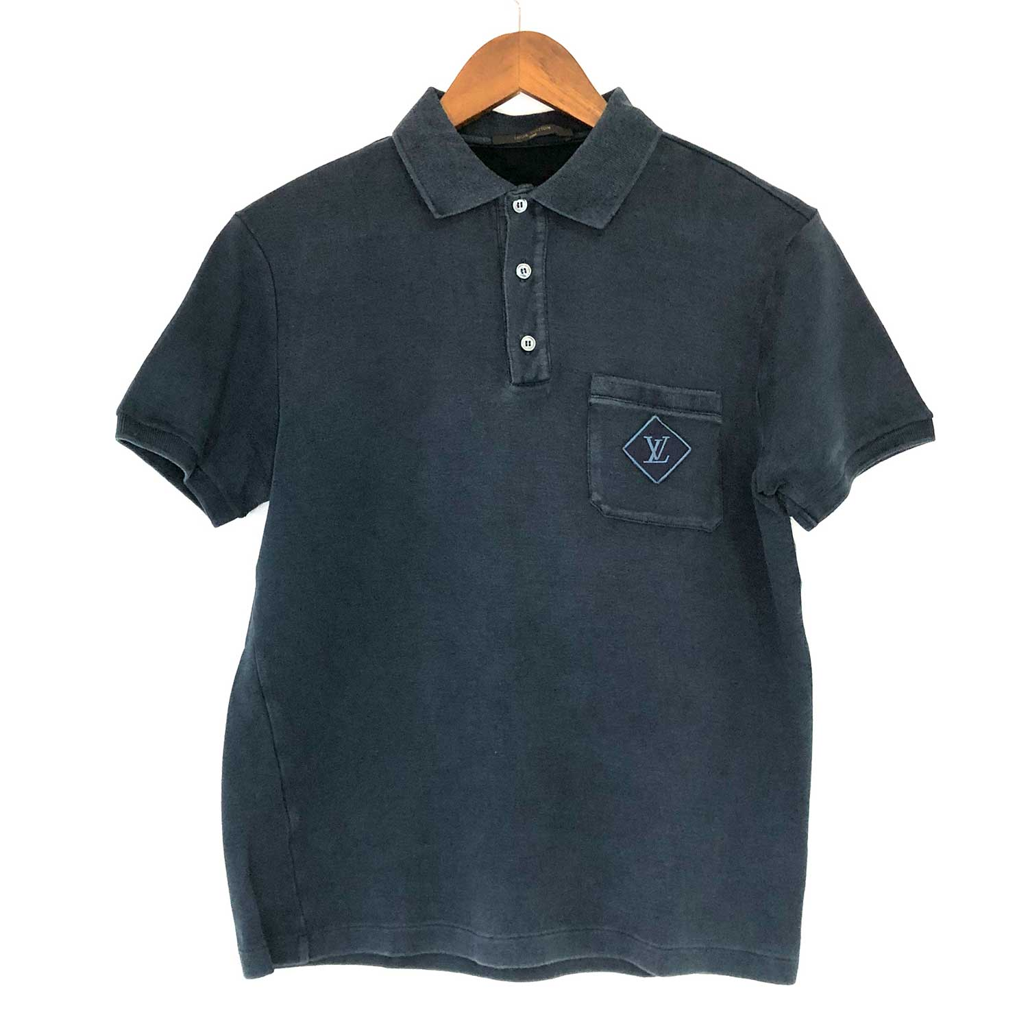 Camisa Polo Louis Vuitton Marinho