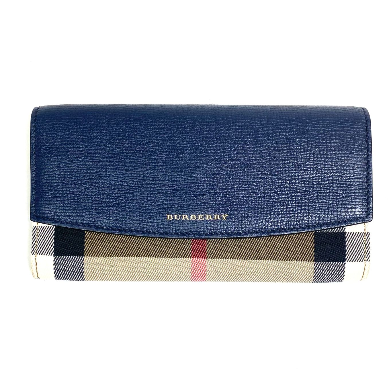 Carteira Burberry Bicolor