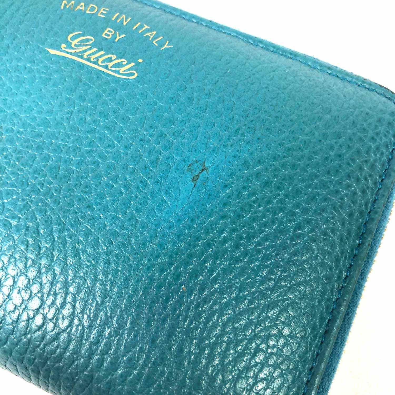 Carteira Gucci Azul Turquesa