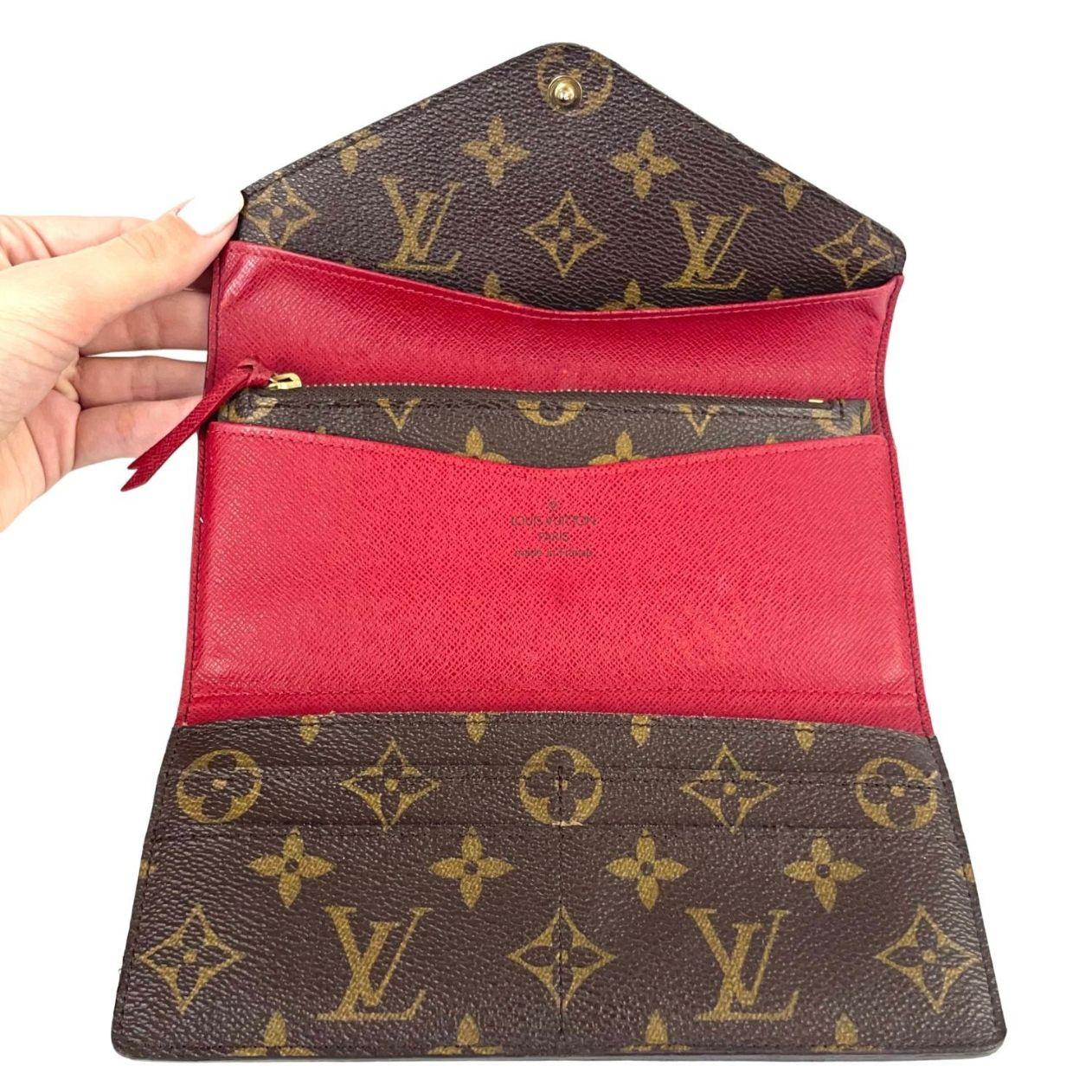 Carteira Louis Vuitton Josephine Monograma