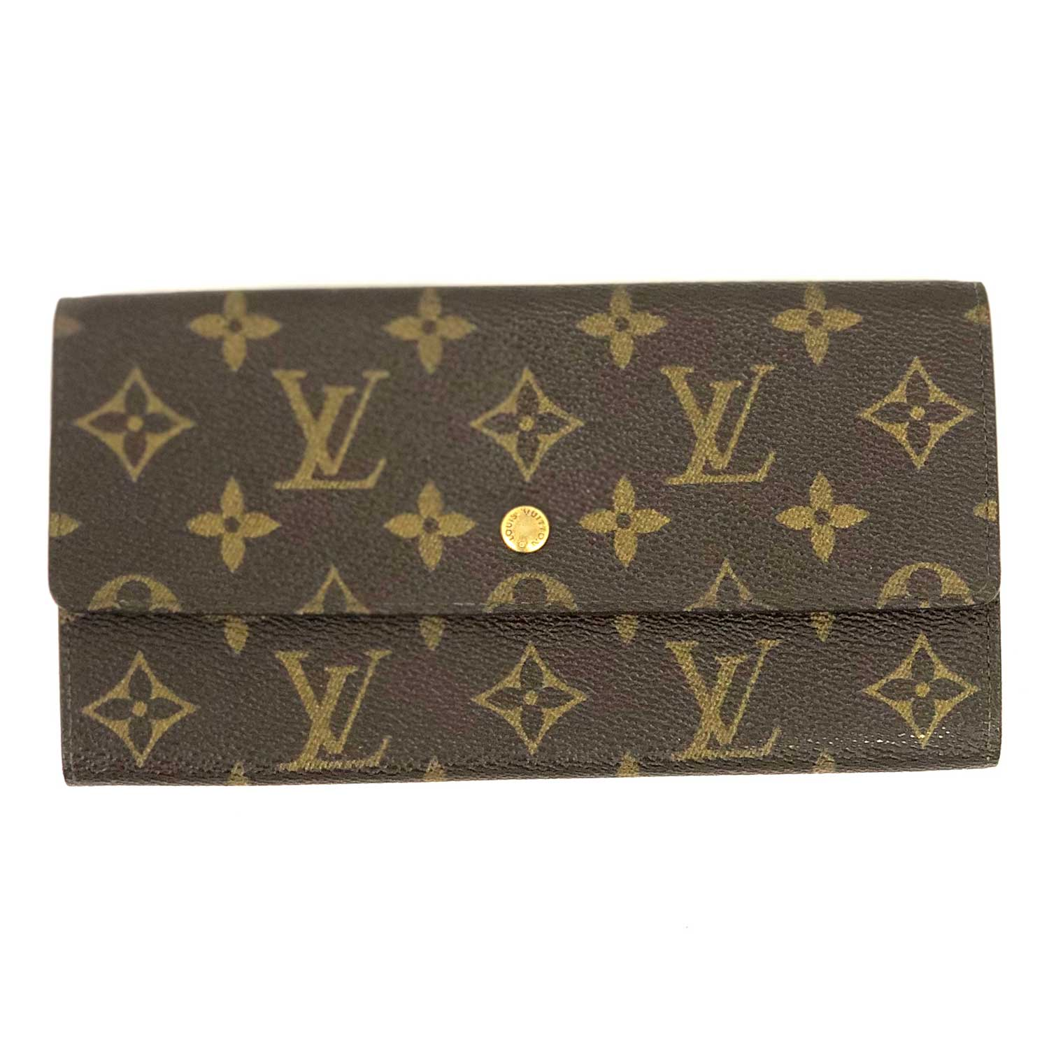 Carteira Louis Vuitton Monograma