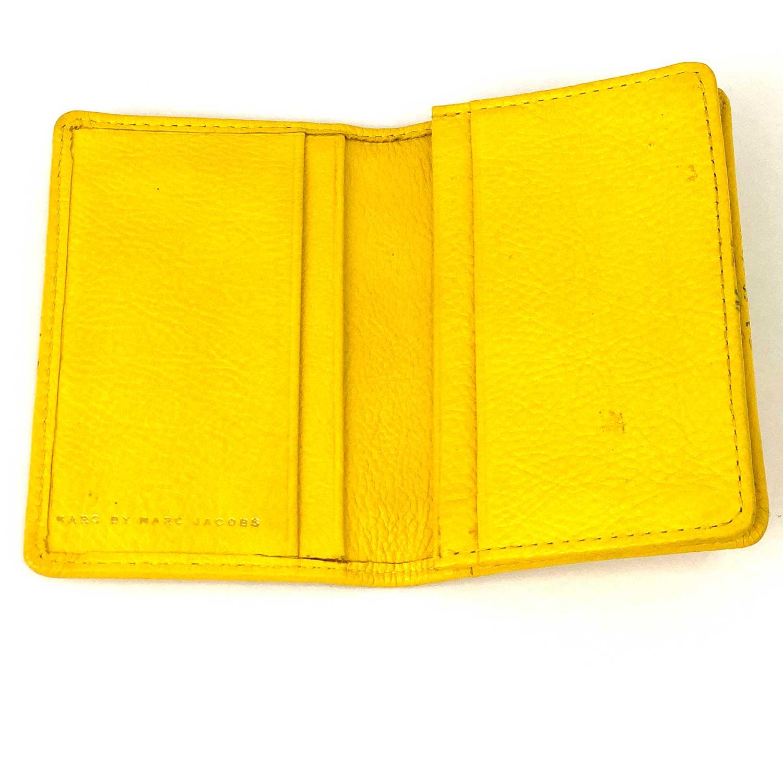 Porta Cartões Marc Jacobs Amarelo