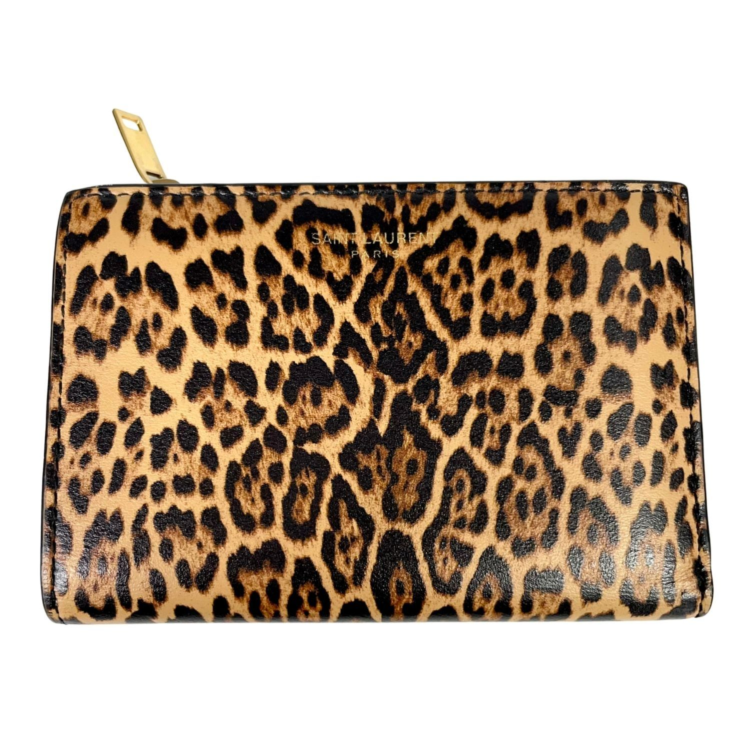Carteira Saint Laurent Animal Print