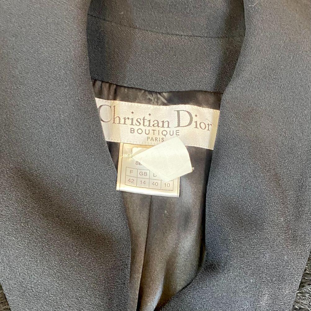Casaco Dior Preto