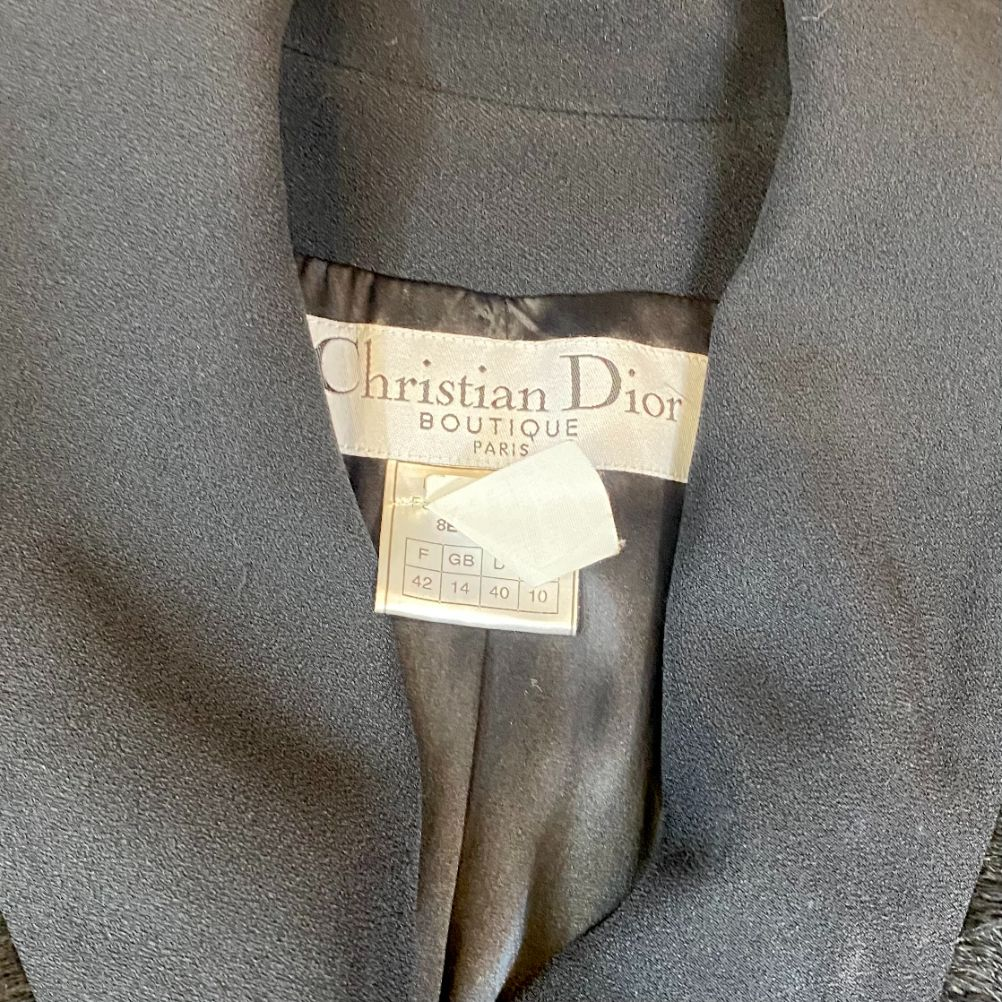 Blazer Dior Preto