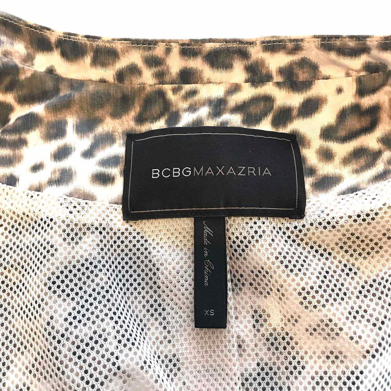 Casaqueto BCBG Animal Print Onça