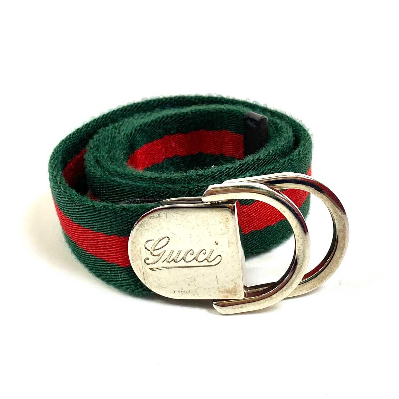Cinto Gucci com Faixa Web