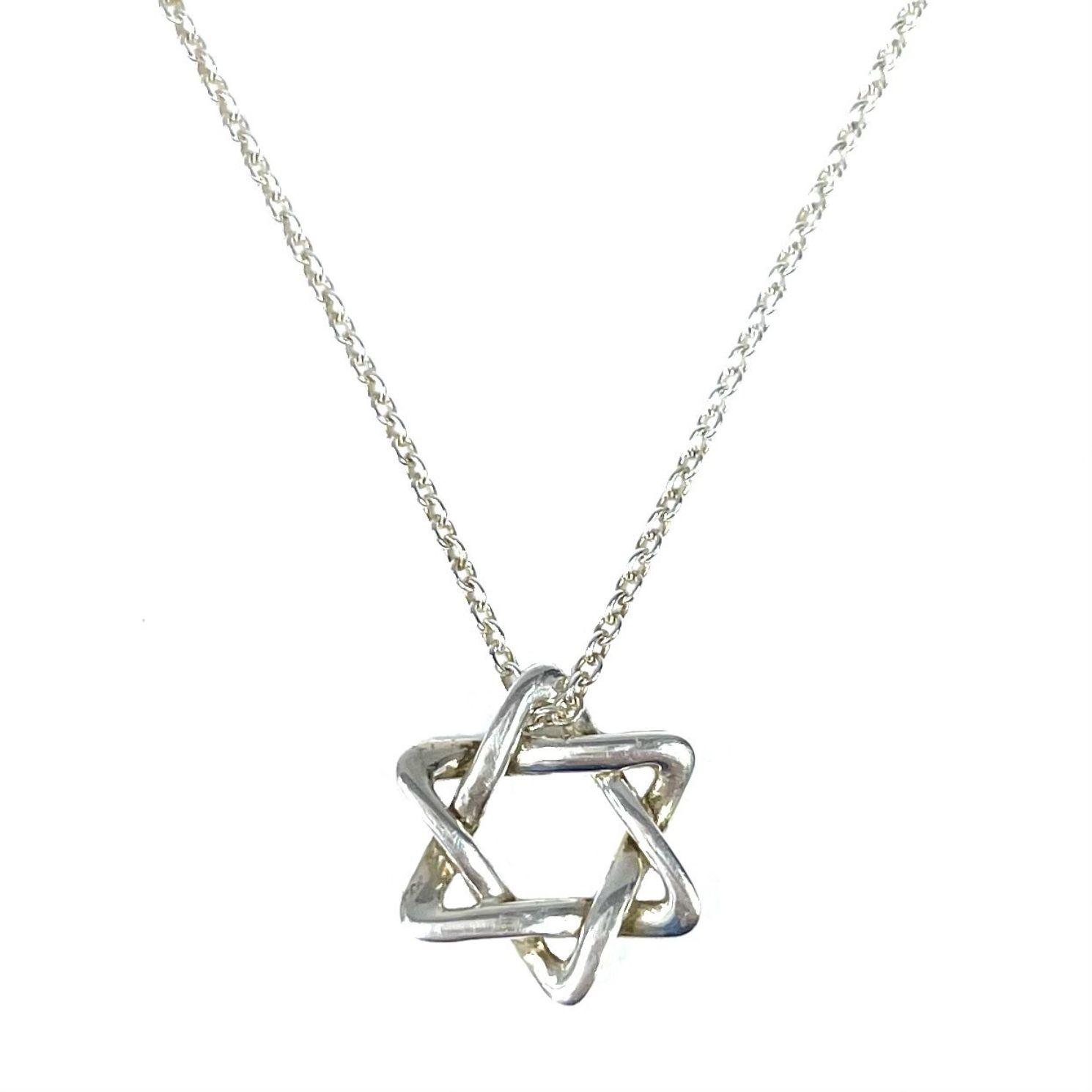 Colar Tiffany & Co Pendente Estrela de Davi