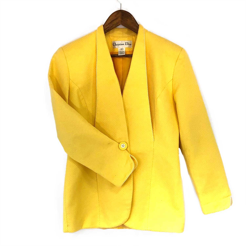 Conjunto Christian Dior Amarelo