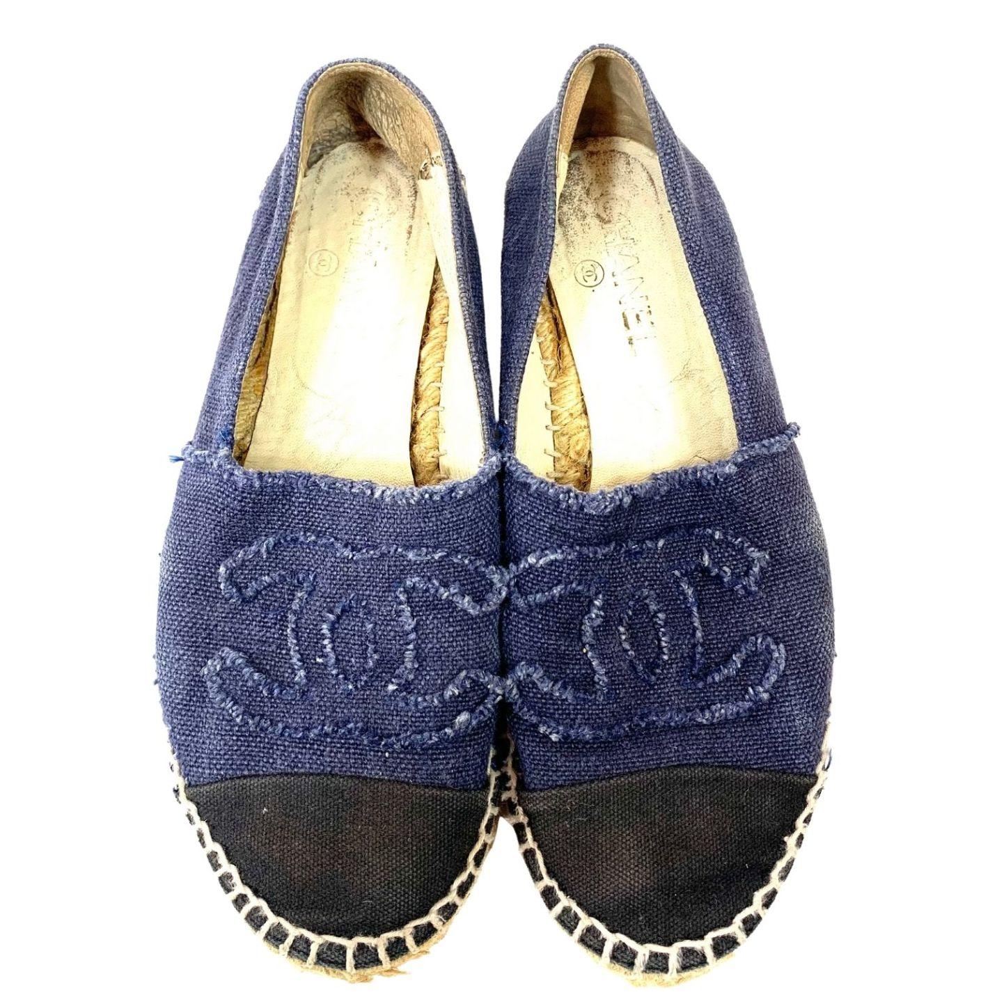 Espadrille Chanel Jeans