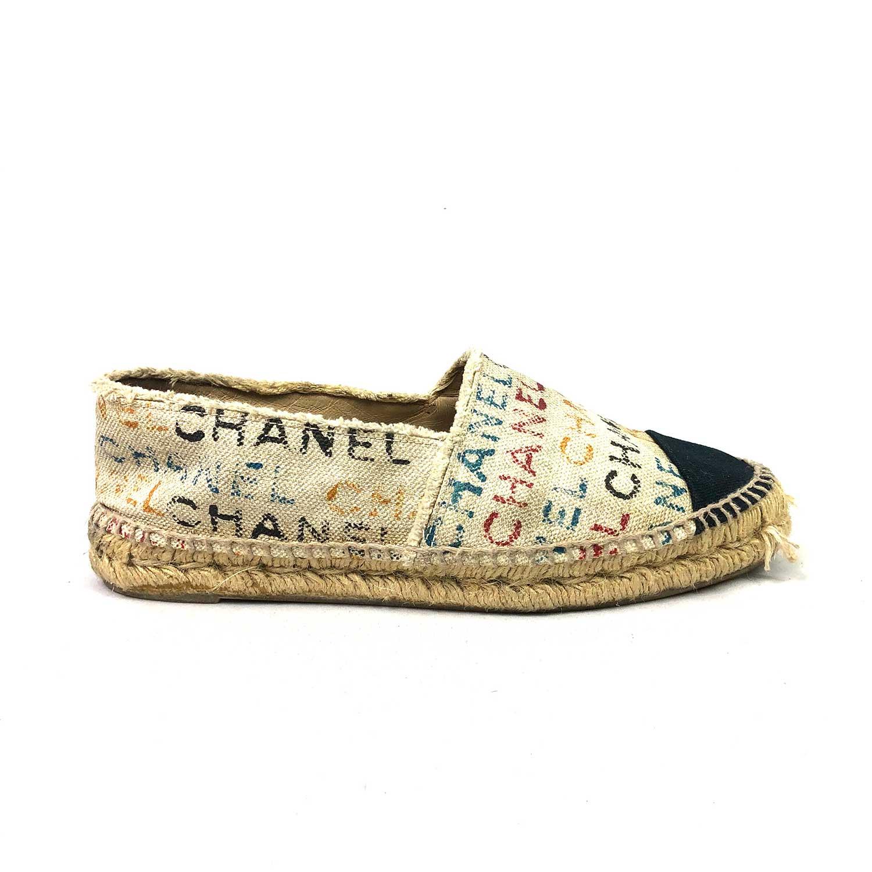 Espadrille Chanel Monograma