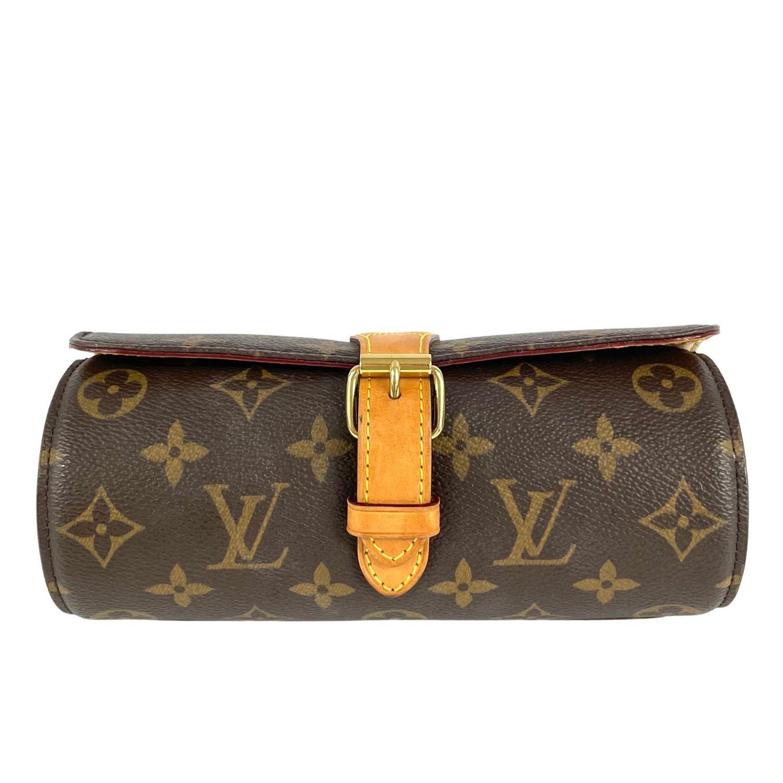Porta Relógio Louis Vuitton Monograma
