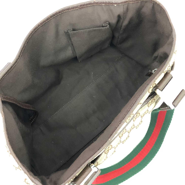 Bolsa Gucci Tote P Monograma