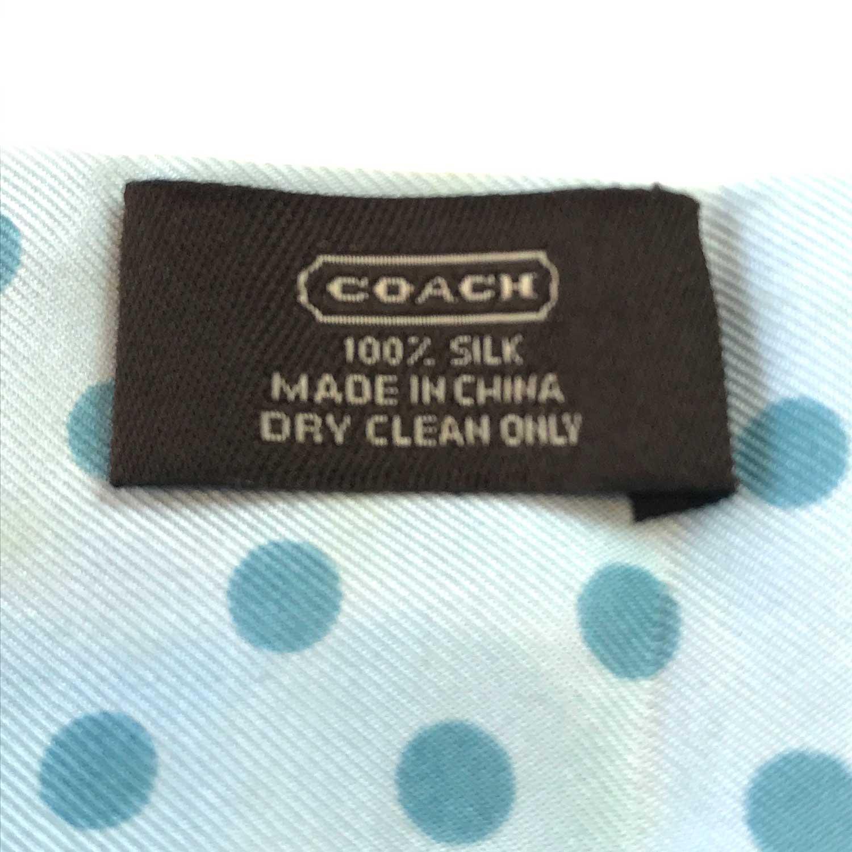 Lenço Coach Azul