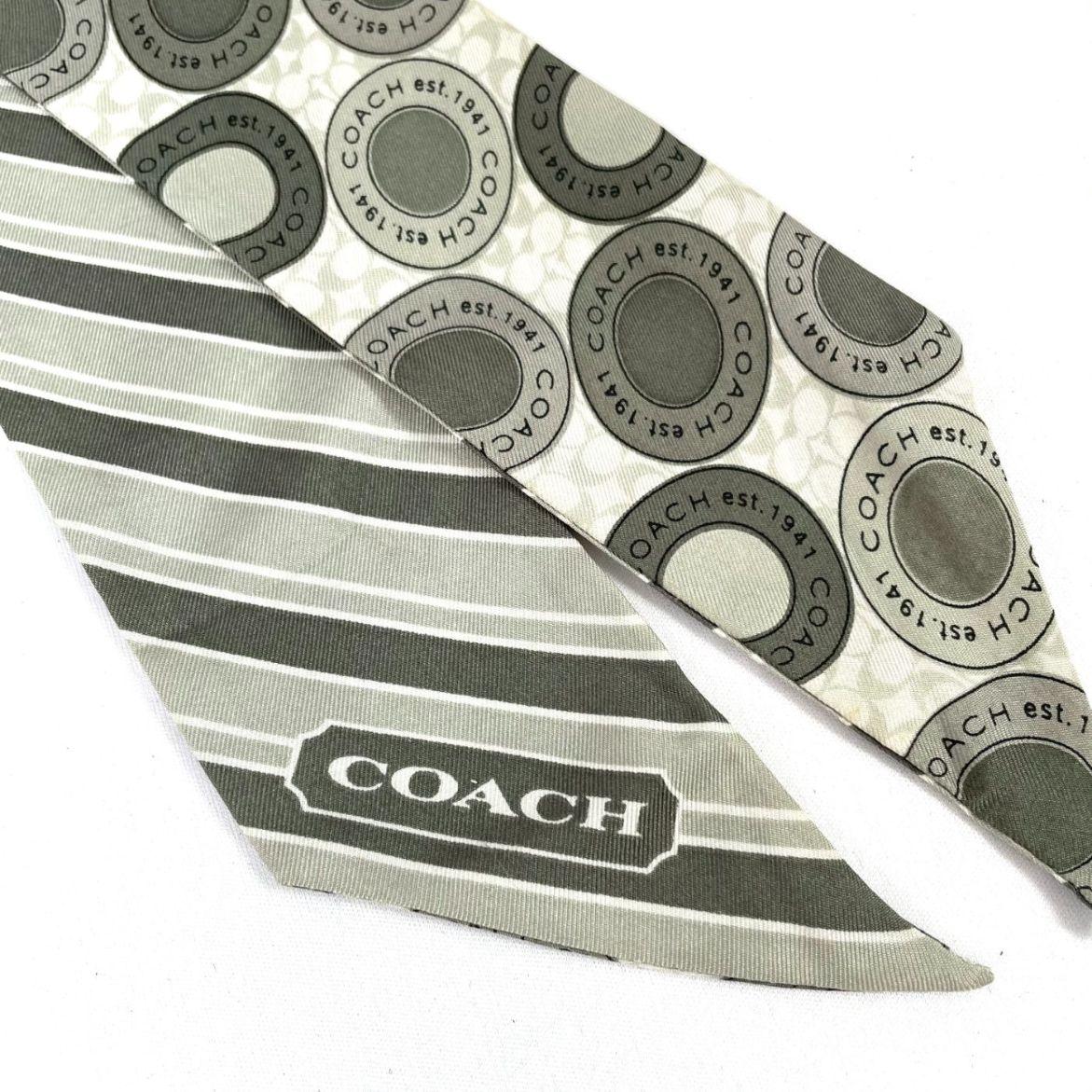 Lenço Coach Listrado