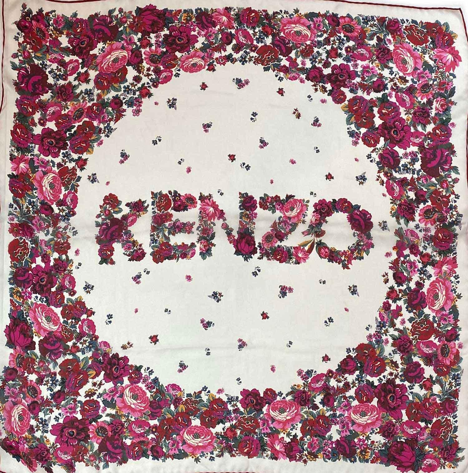Lenço Kenzo Floral