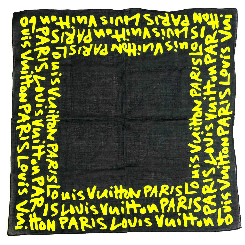 Lenço Louis Vuitton Preto