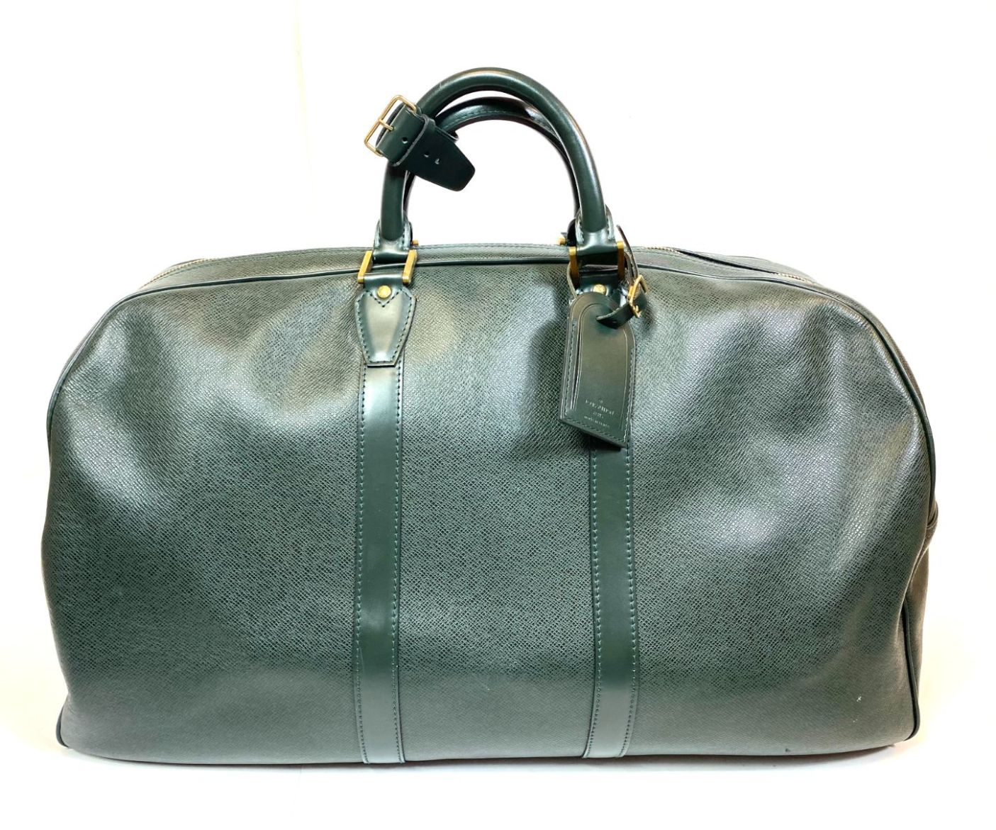 Mala de Mão Louis Vuitton Keepall Verde