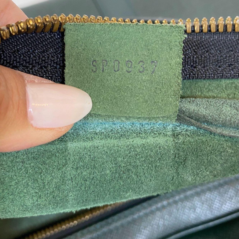 Mala de Mão Louis Vuitton Keepall Verde