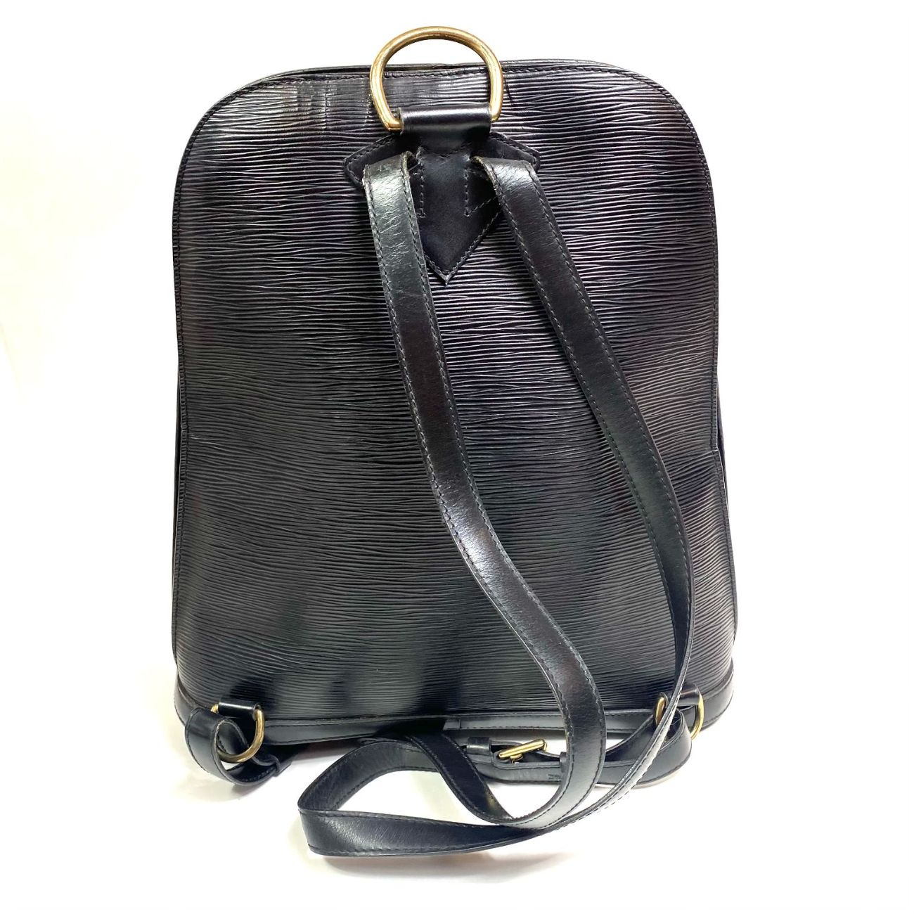 Mochila Louis Vuitton Gobelins Epi Preta