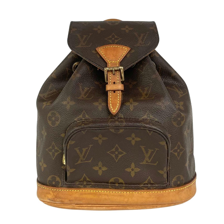 Mochila Louis Vuitton Montsouris BB Monograma