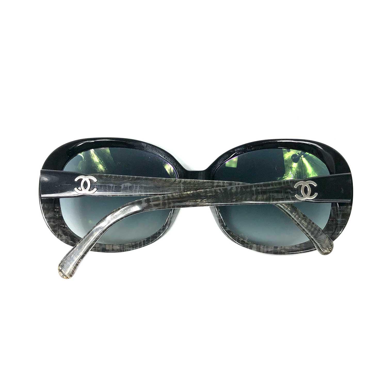 Óculos Chanel 5176 Preto e Cinza