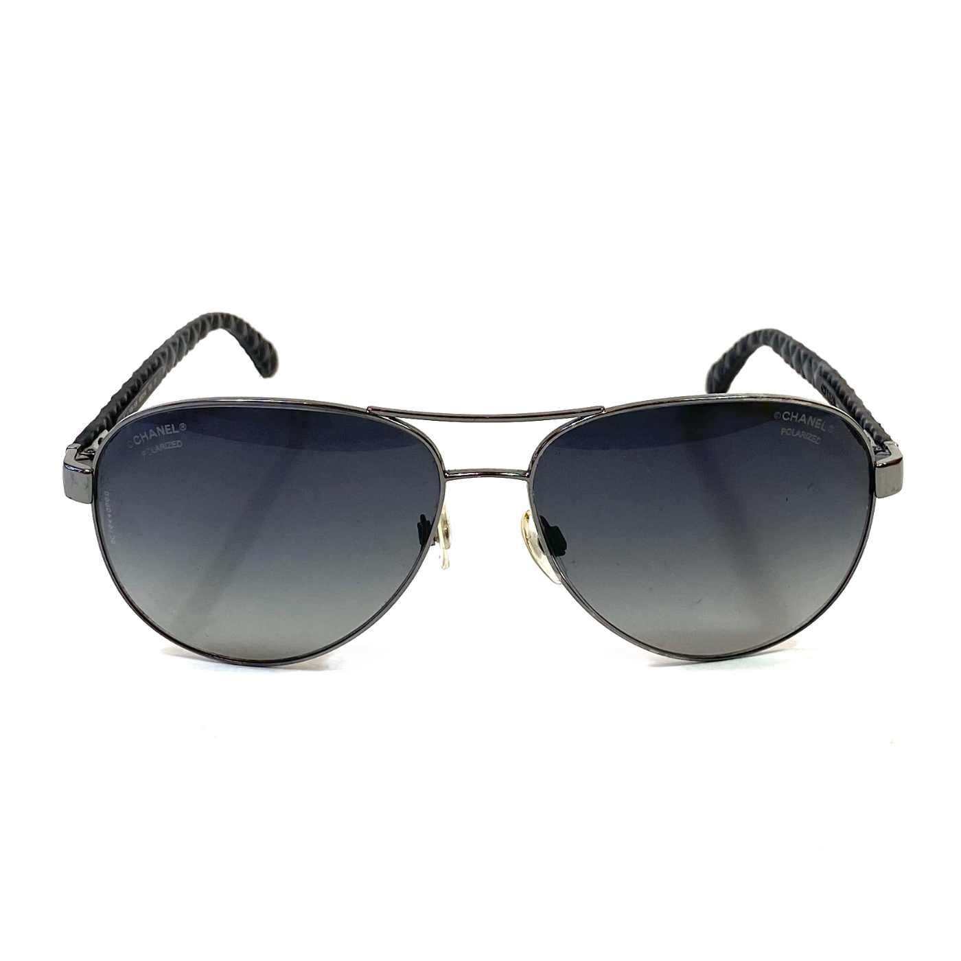 Óculos Chanel Aviador Preto 4204-Q