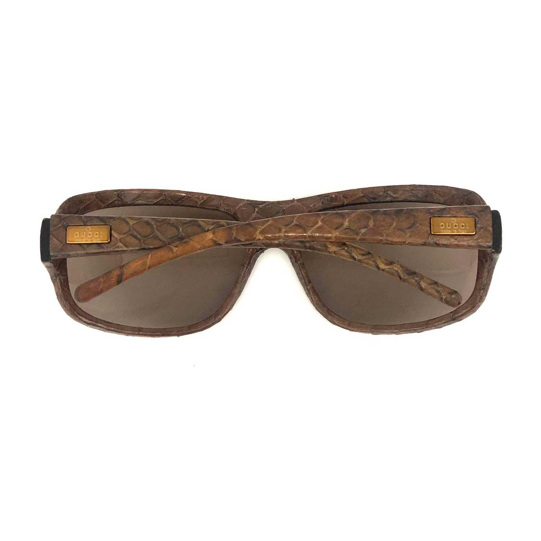 Óculos Gucci GG1449S Snake Marrom