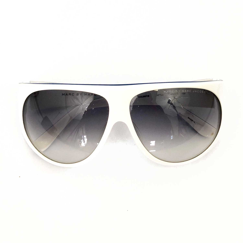 Óculos Marc Jacobs Branco e Azul