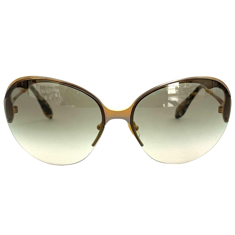 Óculos Miu Miu SMU510 Dourado