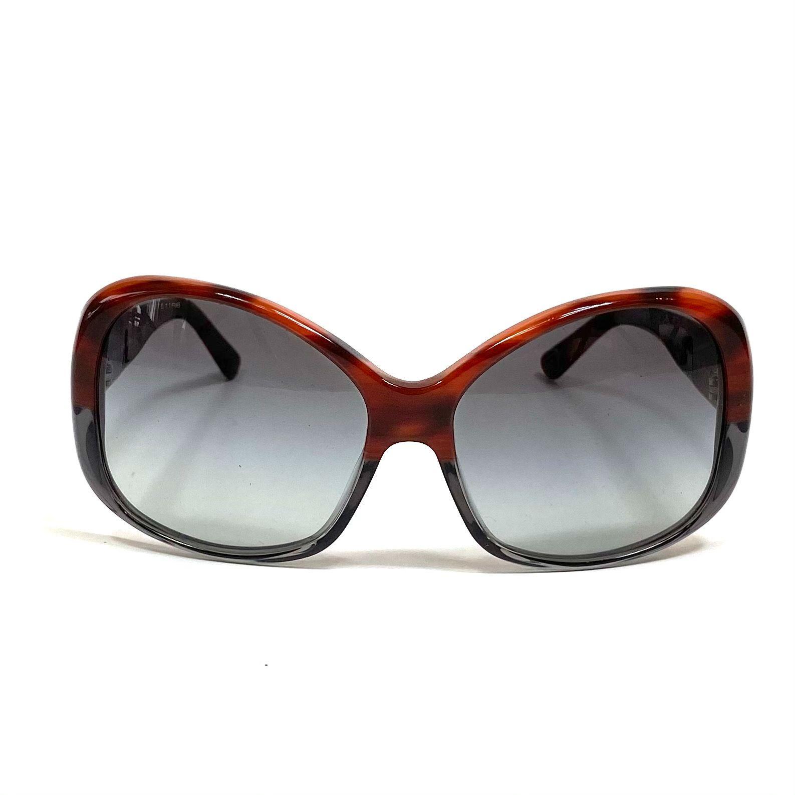 Óculos Prada SPR03M Marrom