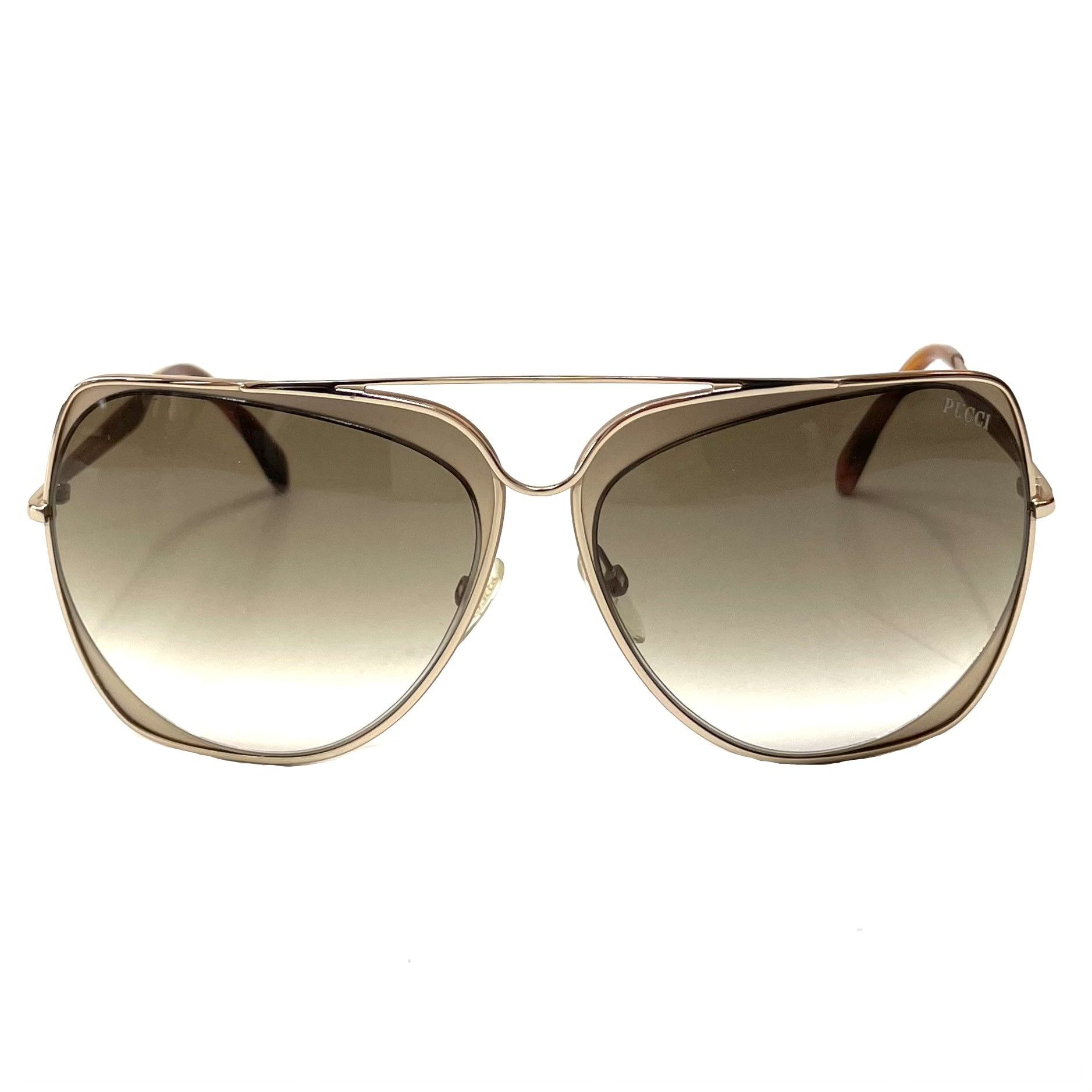 Óculos Pucci Dourado