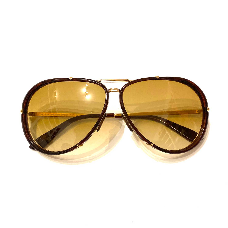 Óculos Tom Ford Ciyrille Marrom